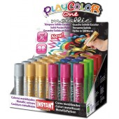 COLORE A TEMPERA SOLIDA Playcolor ONE METALLIK INSTANT