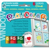 COLORE A TEMPERA SOLIDA Playcolor ONE WINDOW INSTANT
