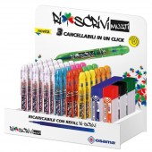 EXPO 36 SFERE CANCELLABILI RISCRIVI MULTICOLOR +36 SET 3 REFILL RISCRIVI OSAMA