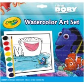 SET ACQUERELLI E ALBUM DISNEY DORY CRAYOLA