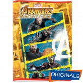 MAXIQUADERNO gr.80 AVENGERS POWERFUL TEAM
