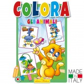 ALBUM DA COLORARE GLI ANIMALI