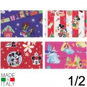 CARTA REGALO IN ROTOLO 100X300 NATALE BIG DINSEY REX-SADOCH