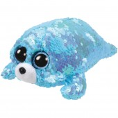 PELUCHE FLIPPABLES SEQUIN CM. 15 WAVES TY