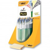 EXPO 20 PENNE SFERA 4 COLOURS FLUO BIC