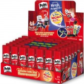 EXPO 40 COLLE STICK PRITT GR.43 + 20 COLLE STICK FLUO IN OMAGGIO HENKEL