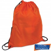 SACCA COULISSE MULTIUSO IN NYLON 34X43 URBAN GLAM FLUO LEBEZ