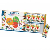 PARTY SET PASTELLI IN LEGNO MINI GIOTTO