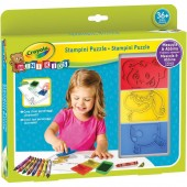SET STAMPINI PUZZLE MINI KIDS CRAYOLA