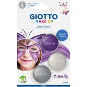 BLISTER 3 OMBRETTI COSMETICI 5 ML. GIOTTO MAKE UP FARFALLA FILA