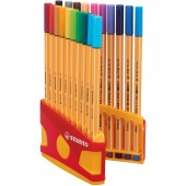 FINELINER POINT 88 JUKE-BOX 20 PZ. STABILO