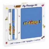 KIT BE A HERO MY MESSAGE BIC