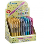 EXPO 60 PENNE SFERA SCATTO GEL G-2 METALLIC PILOT